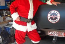 Holiday Willys Jeeps / Getting into the spirit of the holidays with Willys Jeeps! / by Kaiser Willys Auto Supply