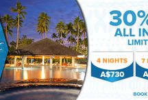 The Naviti All Inclusive! / Includes accommodation, breakfast/lunch/dinner (all meals), standard beverages, all activities, all taxes and return transfers! Airfares are additional. Valid for stays until 22 December 2016 and then from 11th January 2017 to 31st March 2017