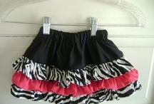 Ruffle skirts / by Griselda Burruel