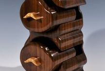 Bandsaw Boxes / Amazing Bandsaw boxes on Pinterest