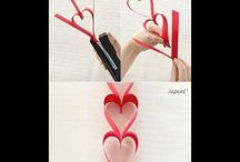 VALENTINES CRAFTS / by Teresa Waters