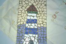 Benim Mozaiklerim - My Mosaics / Sanatsal Mozaik. Mosaic Art