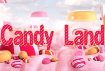 Candy Land / We have a serious sweet tooth, and we know you do too!