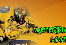 Motorbike Clothing / Leather Motorcycle Suits, Motorcycle Jackets, Leather Pants, Leather Vests, Racing Gloves, Racing Shoes.