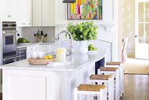 KITCHENS / Kitchen inspiration and ideas.