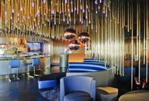 Lounge club interior