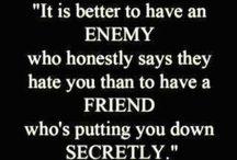 Friendship...