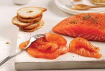 recettes poissons, saumon...