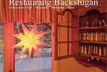 Restaurang Backstugan / Min favoritrestaurang...  Restaurang Backstugan! Greta Garbos väg 4, i Gamla Filmstaden.  Subway Station Näckrosen, på gränsen mellan Solna och Sundbyberg.