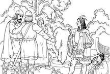 Coloring Vikings
