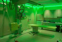 Kid-friendly radiology rooms
