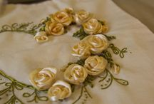 Ribbon Embroidery / Ribbon Embroidery Flowers Handmade