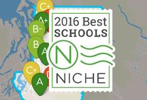 2016 Best School Districts in America / Discover the best school districts in your metro area with k12.niche.com  / by Niche