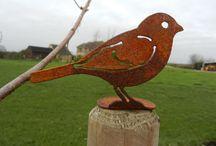 Birds / Birds item, bird decor, painting, felt birds, card with bird, jewelry, crochet items, bird design
