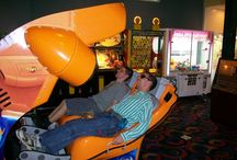 Eat & Play Better / Gamers Playing Games, Having Fun, Enjoying Our Family Restaurant, and Winning Prizes