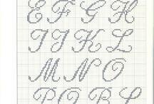 Cross stitch Alphabet's