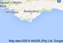 Great Places I've Visited / To plan my tour of the western Cape, South Africa
