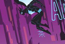 Batman / TDK / by Mauricio Ramírez Mao