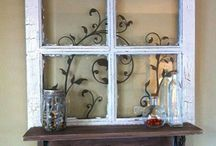 Revamp old windows and doors to stylish new uses!