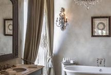 salle de bains en haut