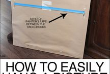 How to easily hang pictures