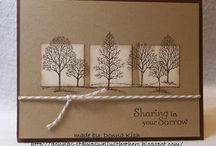 Stampin Up Lovely as a Tree