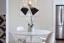 Dining Room Contemporary Lighting
