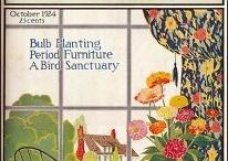 Nostalgic -- Antique Garden Magazines