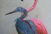 bird making