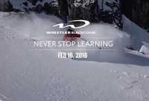 Never Stop Learning / Take your mountain performance to the next level.