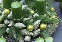 Karácsonyi koszorúk