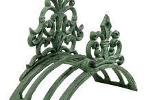 Cast Iron Garden Decor