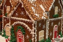 Gingerbread house / Decorating ideas