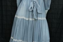 Dresses from my youth...
