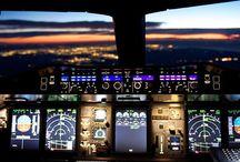 Planes cockpit