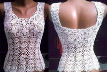 blusas croche