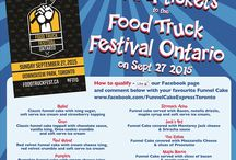 Your Chance to Win 4 Tickets to the Food Truck Festival Ontario / Now's your chance to win 4 tickets to the Food Truck Festival Ontario.  How to qualify - Give our Facebook page a LIKE and look for the post with our contest details, and comment below with your favorite funnel cake.  https://www.facebook.com/FunnelCakeExpressToronto  To double your chances Tweet your favorite funnel cake to @FunnelCakeExp  Contest is running until September 25, 2015