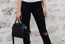 ThatLaidBackChic | Black Skinnies / Ways to wear your favorite wardrobe staple