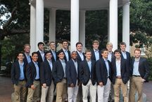 Blue Blazers and Blue Oxford Shirts / At the beginning of each school year, we gather by the Old Well to take our portrait photos. Though the faces may be different from year-to-year, the blue blazers and blue oxford shirts remain a Clef Hangers tradition.