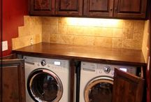 My house-- laundry room
