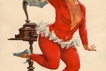 Pin up Hilda by Duane Bryers - 50's to 80's