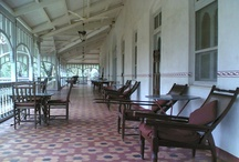 The Verandah in the Forest / The Verandah in the Forest was the second house to be built on the isolated Western Ghats, by Captain Barr. Now, with every facility in place, it is reputed to be second to none! Indeed, the nobility of the proportions of The Verandah bring civilizational honour to the Sahyadri ranges.
