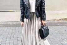 faldas con tablas