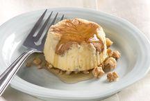 Mini gâteau au fromage et aux noix