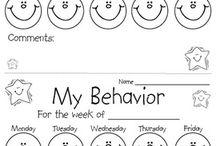 Behavior Charts & Check Lists