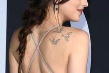 Dakota Jonson tetovanie