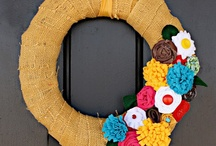 HOME DECOR- Door Jewelry / by Megan Jennings