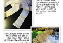 Sewing tips and tricks / by Jessica Concha-Mosera