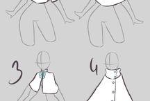 Anime clothes designs / Anime clothes designs