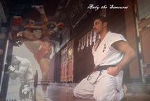 andy hug / picture gallery of andy hug, one in the best fighters in the world of kyokushin karaté, seidokaikan and K1. he is die as a result of ilness.